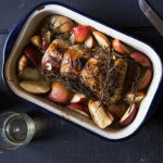 Honey-Glazed Roast Pork with Apples