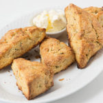 Honeycomb Einkorn Scones with Hazelnuts and Rosemary
