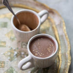Tahini Hot Chocolate from Sofra Bakery & Cafe