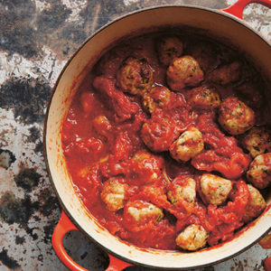 turkey meatballs recipe Excerpted from Small Victories by Julia Turshen. Published by Chronicle Books. Text ©2016 Julia Turshen. Photograph ©2016 Gentl + Hyers.