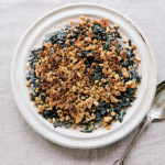 Creamed Chard with Walnut-Breadcrumb Topping