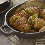 Raghavan Iyer's Hasselback Potatoes with Cardamom Butter