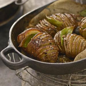 Raghavan Iyer_Hasselback Potatoes recipes