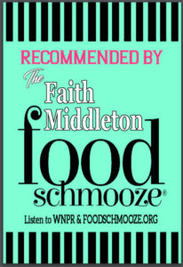 Faith Middleton Food Schmooze recommended wines