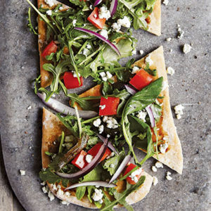 Skinnytaste_Salad Pizza_recipe