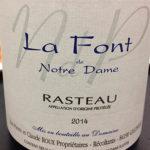 La Font de Notre Dame—Rasteau