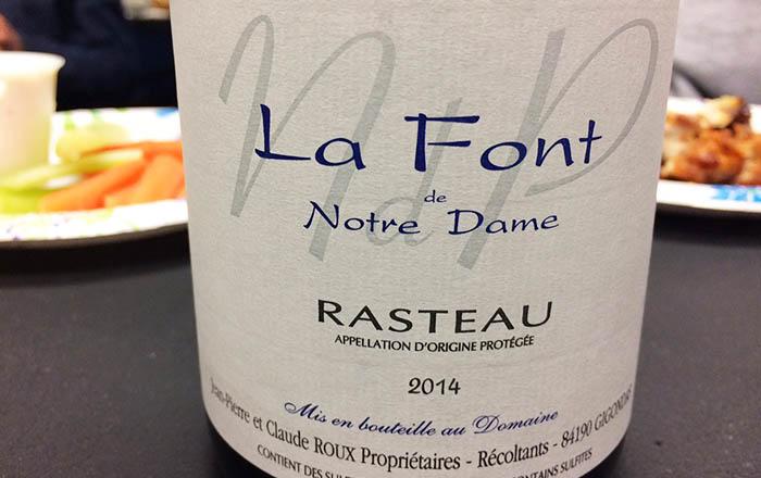 La Font Notre Dame Rasteau