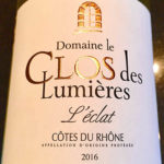 The $14 Clos des Lumières L'eclat is a Rich White Wine