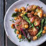 Simple-Green-Suppers_Baby-Potatoes_Chickpea-Hash_recipe, Photograph © 2017 by Randi Baird