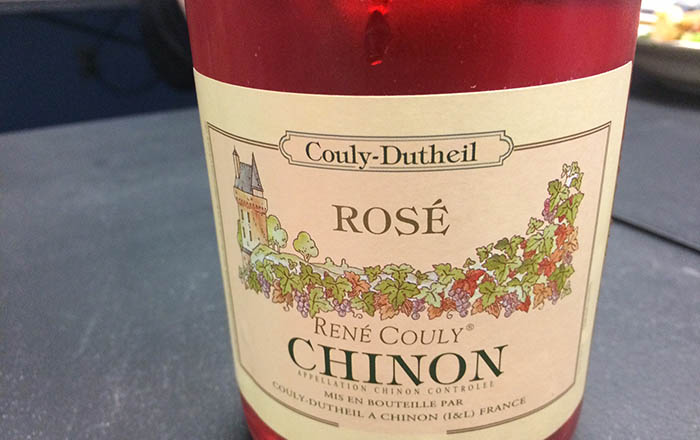 Couly-Dutheil rose wine