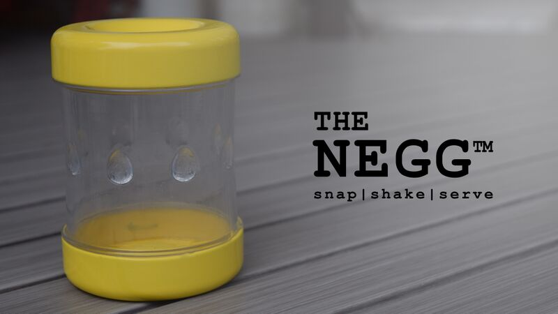 The Negg egg peeler