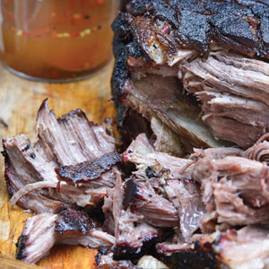 Steven Raichlen's Korean Pulled Pork recipe