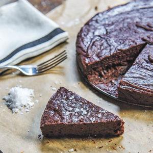 Buffalo Trace Brownie Cake recipe