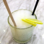 Lemony Sorbet Wine Milkshake