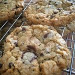 Amanda Glover's Gluten Free C-A-T (Chocolate-Almond-Toffee) Cookies