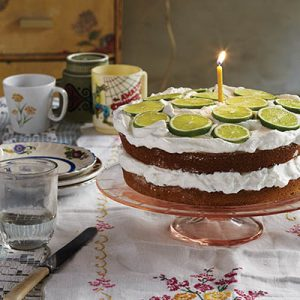 MOJITO CAKE WITH RUM recipe