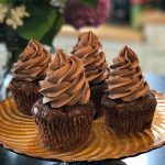White Gate Farm's Chocolate Zucchini Cupcakes with Chocolate Cream Cheese Frosting