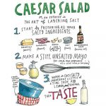 Samin Nosrat's Caesar Salad (Illustrated Recipe)