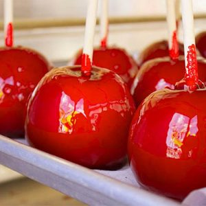candy apples - Christmas Candy Apples