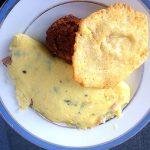 John E. Finn's Prosciutto, Parmesan, and Rosemary Omelet