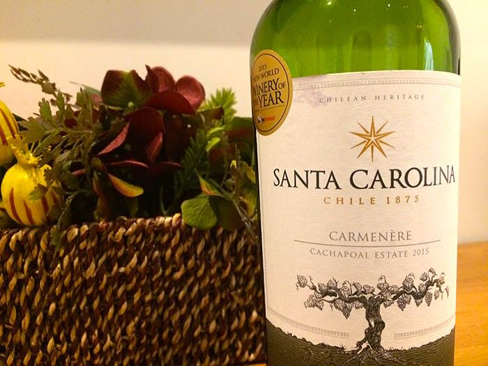 Santa Carolina Carménère red wine