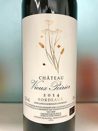 Chateau Vieux Poirier Red Wine