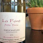 La Font de Notre Dame Gigondas is a Big, Bold Red for the Holidays