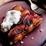 Maple Apple Tarte Tatin with Maple Whipped Cream