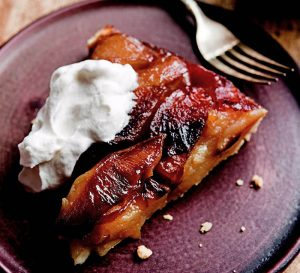 Maple apple tarte tatin with maple whipped cream faith maple apple tarte tatin with maple whipped cream faith middletons food schmooze forumfinder Image collections
