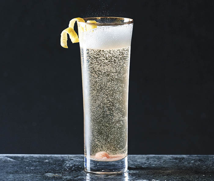 3-Ingredient Cocktails__Champagne Cocktail recipe