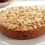 Lidia Bastianich's Almond Torte with Chocolate Chips
