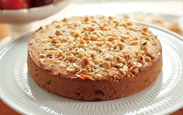 Lidia Bastianich Almond Torte with Chocolate Chips recipe
