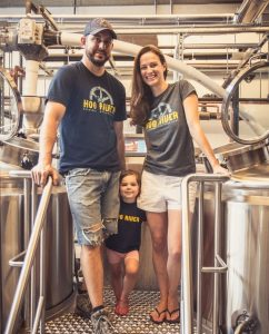 Ben and Joy Braddock_Hog River Brewing_Alicia Millane Imaging