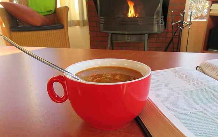 Chris's Tomato Chicken Soup recipe