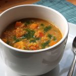 Faith's Hearty Curried Lentil Vegetable Soup