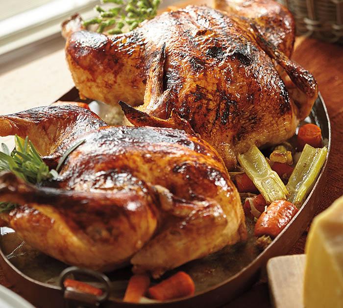 Lidia Bastianich_Roasted Guinea Hen with Balsamic Glaze_recipe