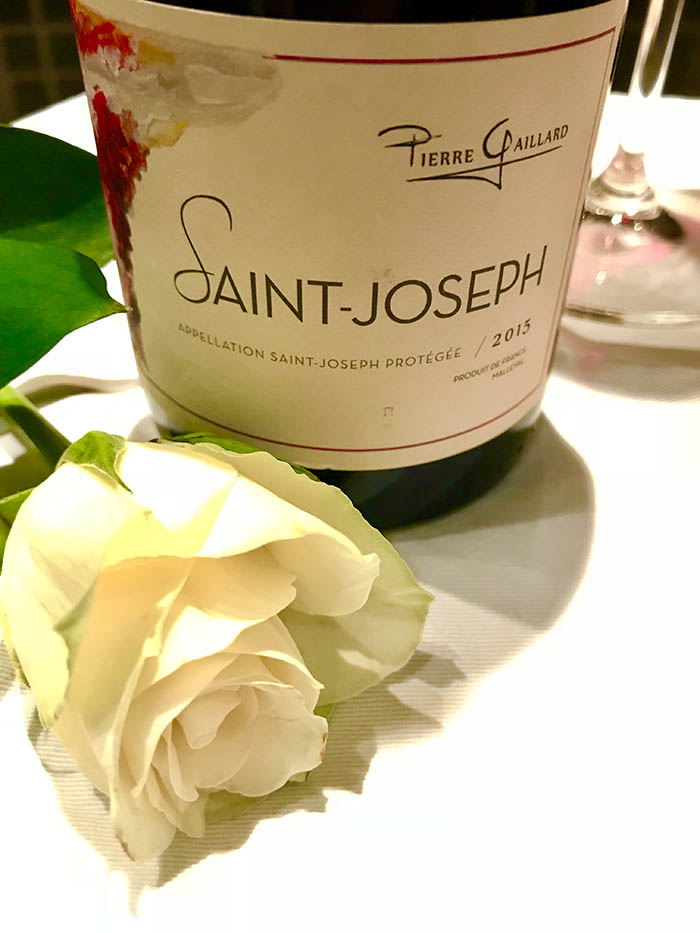 Pierre Gaillard Saint Joseph syrah wine