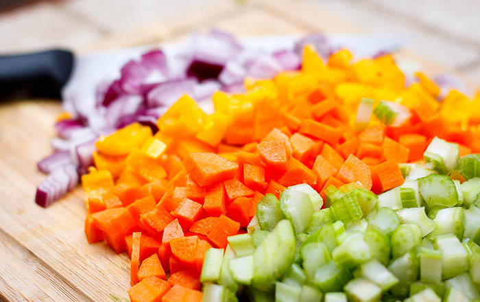 chopped vegetables for soup_Marco Verch_Flickr