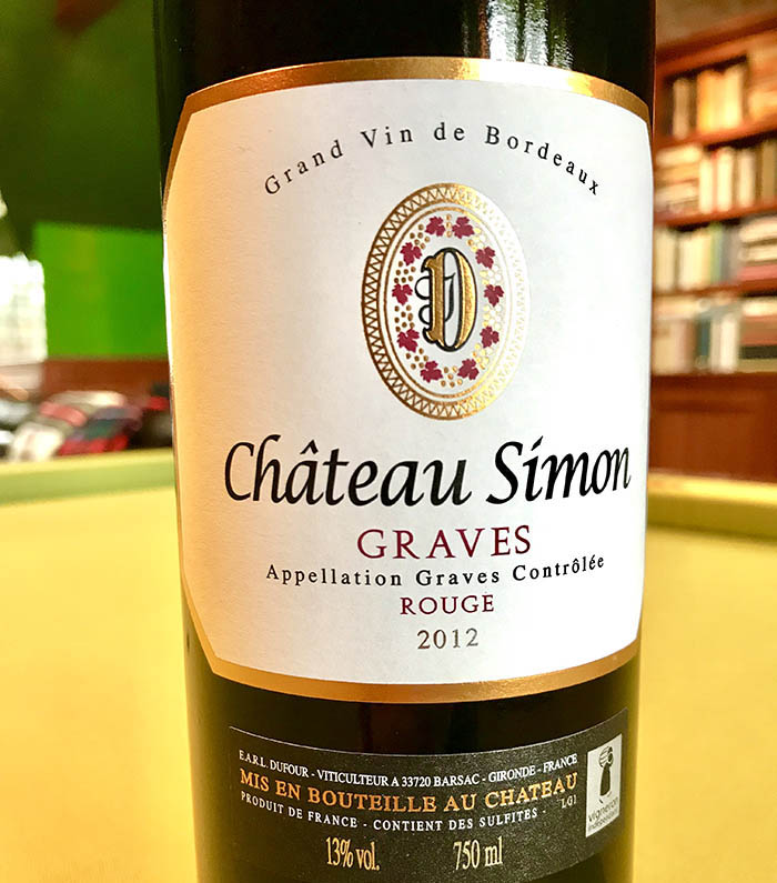 Chateau Simon Graves Bordeaux Blend