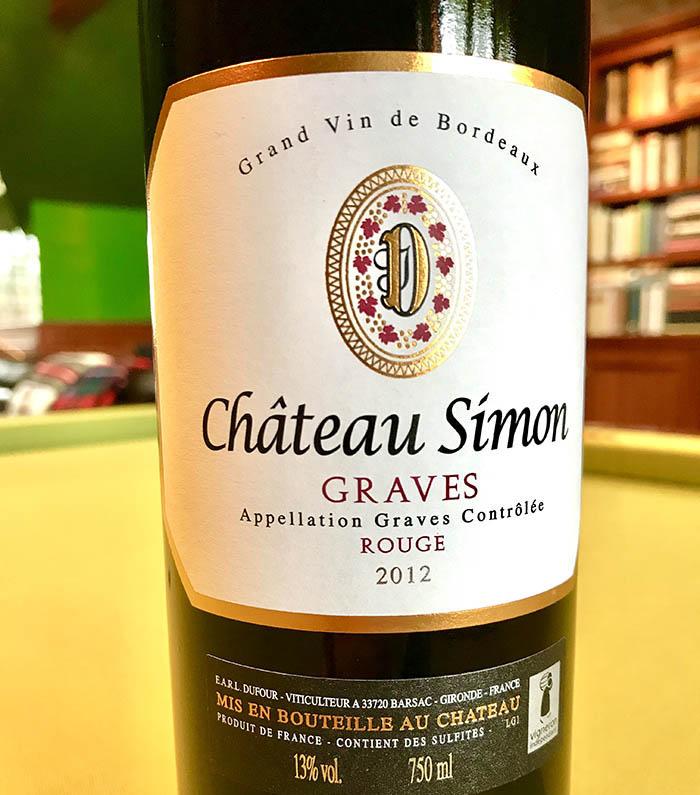 Chateau Simon Graves Bordeaux Blend