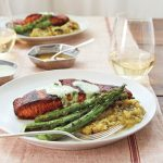 Masala-Crusted Salmon recipe (c) Sidney Bensimon