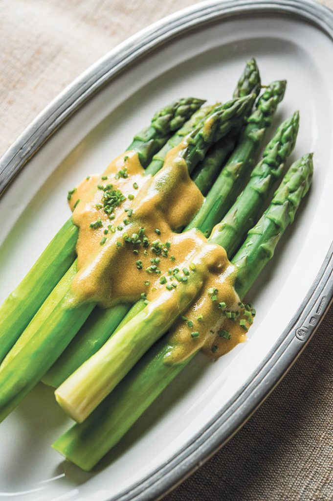 Perfectly Steamed Asparagus Spears recipe