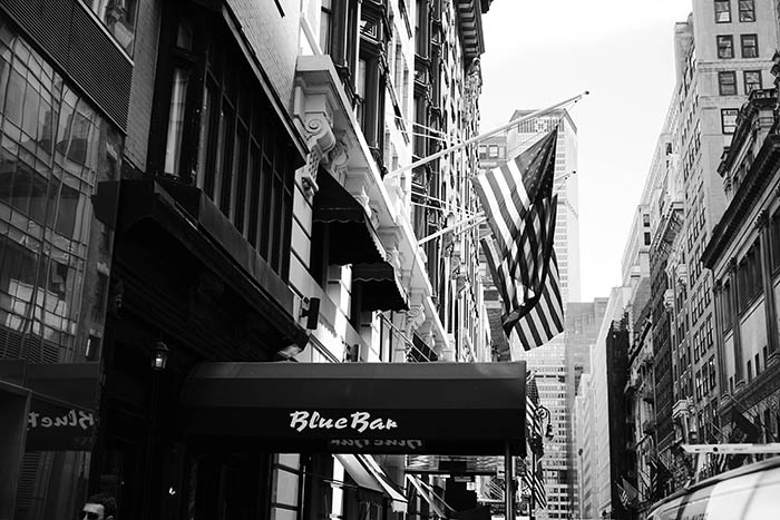 Storied Bars Of NewYork_Algonquin Blue Bar Exterior_ALGONQUIN HOTEL FOR MAYDAY WEDNESDAY APRIL 15, 2015