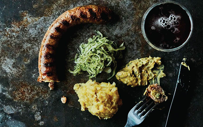 The Hygge Life_Bratwurst with Sauerkraut recipe_© 2017 by Peter Frank Edwards