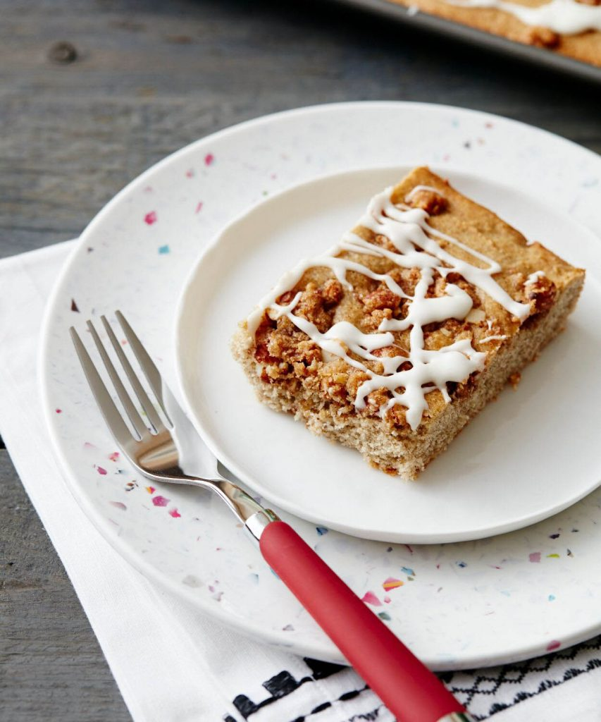 Sheet Cakes_Gluten Free Sour Cream Slab Coffee Cake_recipe