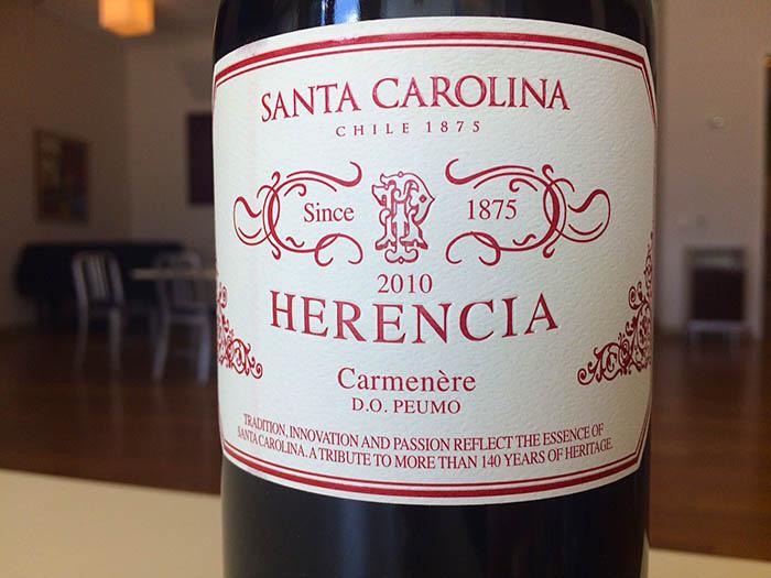Santa Carolina_Herencia