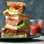 Classic Meat Loaf Sandwiches with Tomato Jam