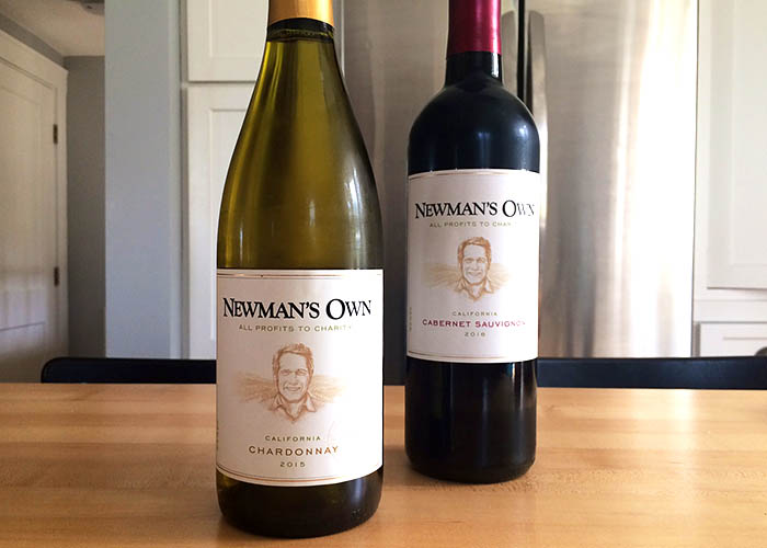 Newman's Own wines