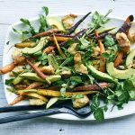 Roasted Carrot and Avocado Panzanella_recipe