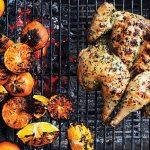 Mark Bittman's Spatchcocked Chicken with Garlic, Parsley, and Orange